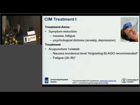 Integrative Oncology at the University Hospital Zurich (Switzerland)