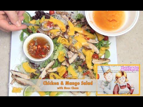 Vietnamese Chicken & Mango Salad With Nuoc Cham Cheekyricho Video Recipe Episode 1,090