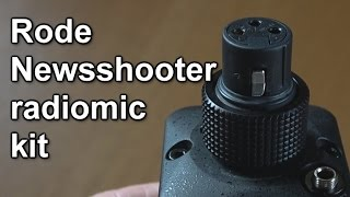 Review: Rode Newsshooter wireless XLR microphone kit