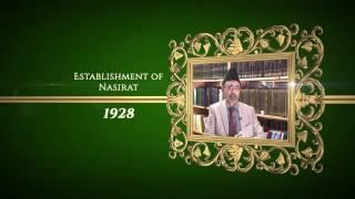 Achievements of Hazrat Musleh Ma'ood: 1928 The Establishment of Nasirat