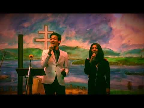 Brother & Sister Duet - Walk With Me - Colet & Annette Selwyn (Live)
