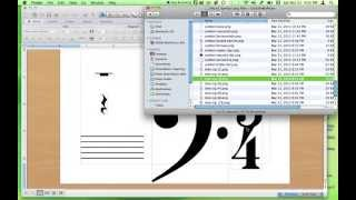 Making Music Worksheets Using Png Files In Microsoft Publisher