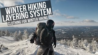 Winter Hiking Layering System | Clothing For Hiking In The Win…