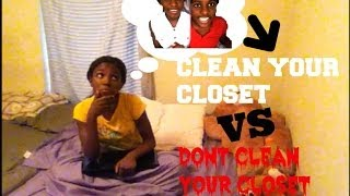 Skit Video: Cleaning my closet Thumbnail