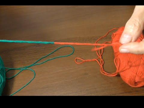 Как соединить две нитки без узла