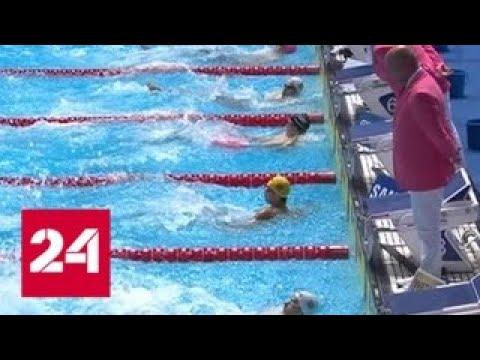 Сборная России стала третьей в общем зачете чемпионата мира по водным видам спорта - Россия 24