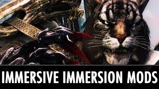 Skyrim Mods: Immensely Immersing Immersive Immersion Mods