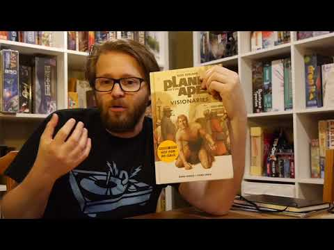 Comics Review: Planet of the Apes: Visionaries