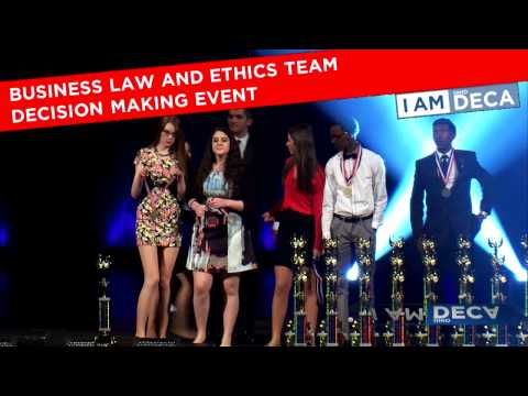 2015 Ohio DECA Career Development Conference Grand Awards Session