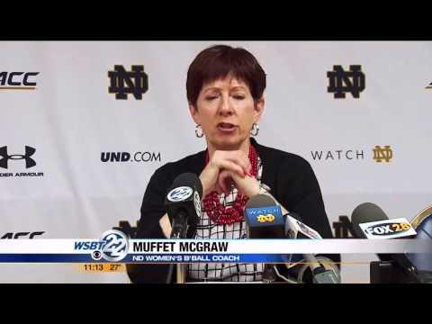 Notre Dame women's basketball helps Flint