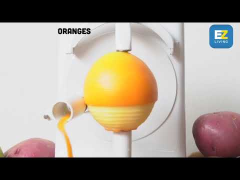 MAGIC ELECTRIC FRUIT AND VEGETABLE PEELER by EZ Living