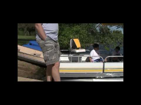 DELIVERY AND SETUP OF YOUR PONTOON 14 FT...