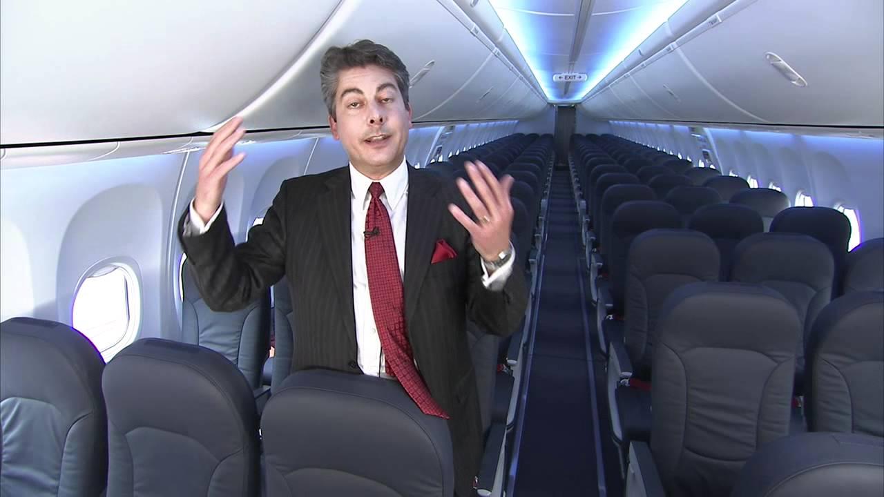 Superb Boeing 737 Sky Interior Demonstration