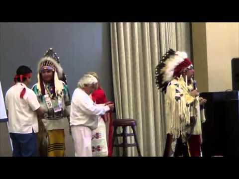 Native American Chief Introduces Mayan Elder at 12-12-12 Star Knowledge Conference