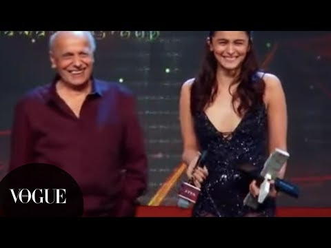 You Can't Miss Alia Bhatt's Vogue Women of the Year 2018 Speech | VOGUE India