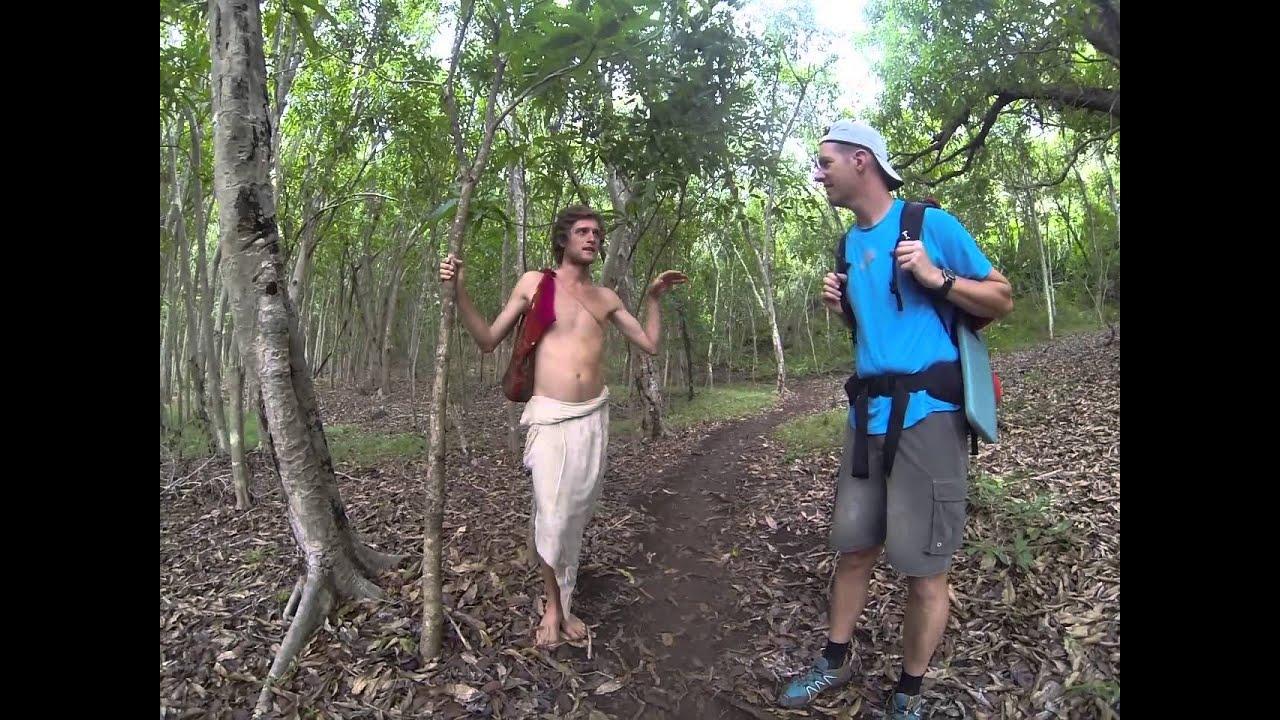 loincloth  boy Kalalau Trail: Loin Cloth Boy