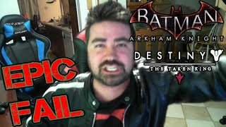 Batman: Arkham Knight Angry Rant! (+ Destiny DLC)