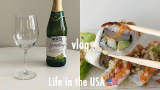 ENG)미국 유학생 vlog_미국에서 바쁜 유학생, 오…