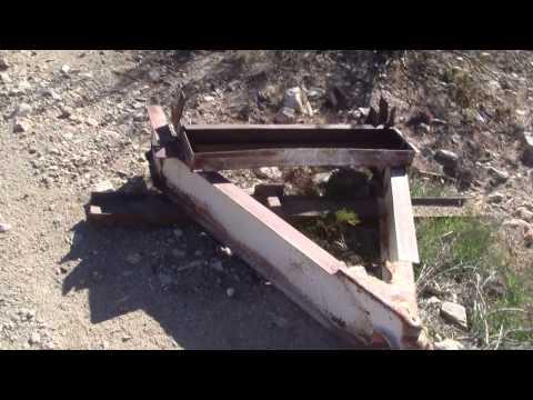 Homemade Gravel Grader Drag | Doovi