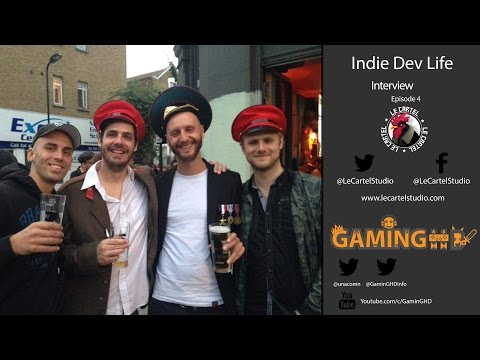 "Indie Dev Life : Alexandre Muttoni ""Le Cartel Studio"" - Developer of Mother Russia Bleeds"