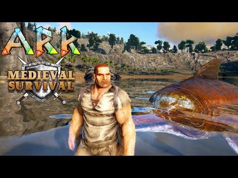 Ark Medieval Survival #1 - GOLFINHOS VACILOS!!!
