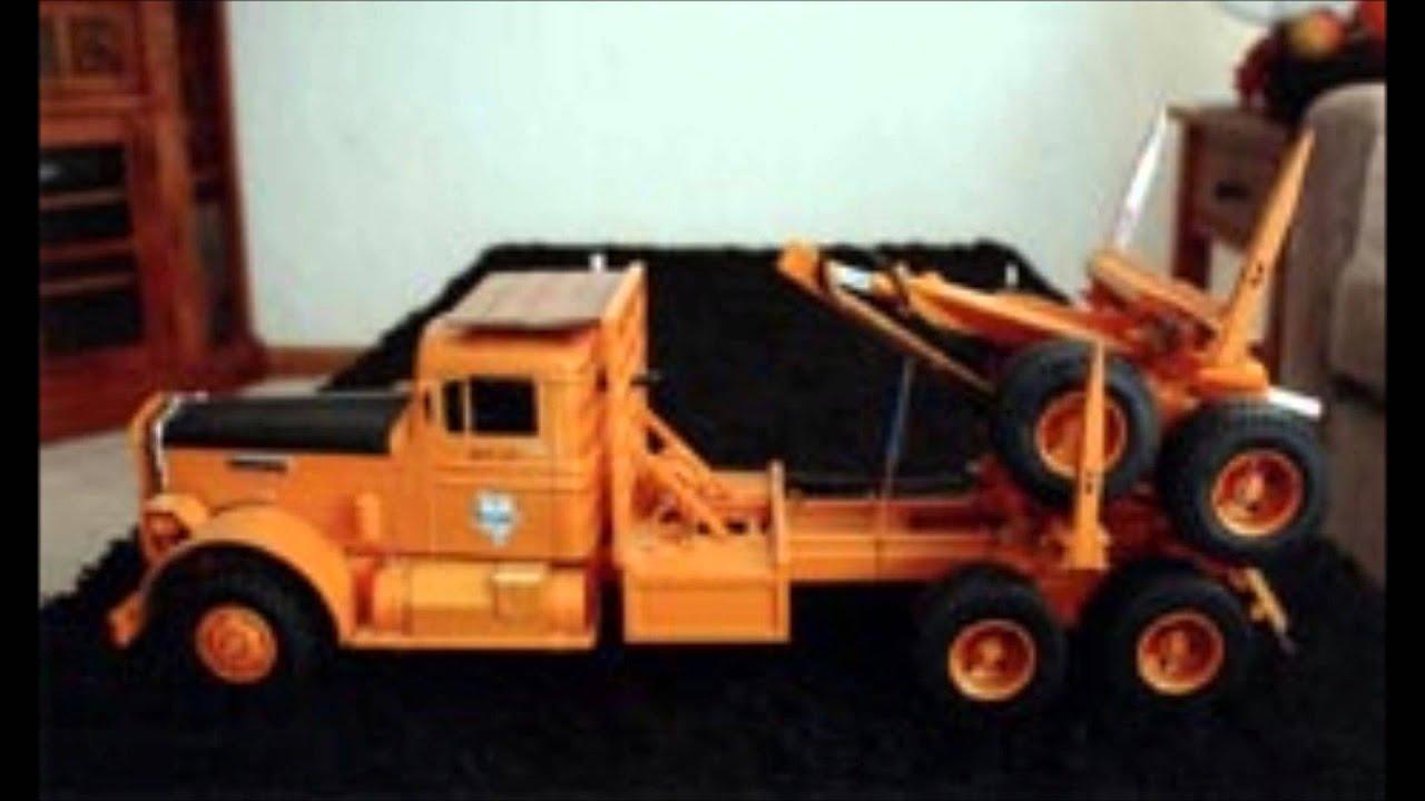 1 16 Scale Logging Trucks Models Kenworth Peterbilt Mack