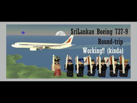 SriLankan Airlines Boeing 737-9 (Working-'kinda')!!