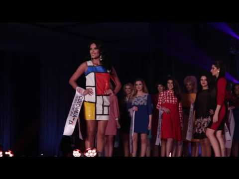 ONUS & The Miss Globe 2016 - The first 3D Printed Dresses in the Balkans!