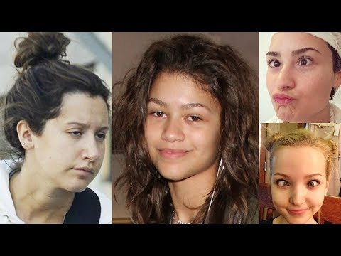 Disney Channel Stars Without Makeup