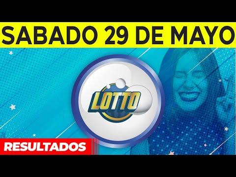 Sorteo Lotto y Lotto Revancha del Sábado 29 de mayo del 2021