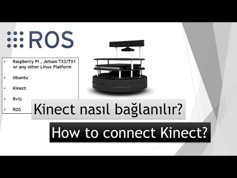 How to install Kinect to ROS / Ubuntu - ROS Dersleri - ROS