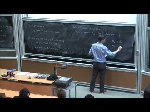 Tommaso de Fernex: Arc spaces and singularities in the minimal model program - Lecture 2