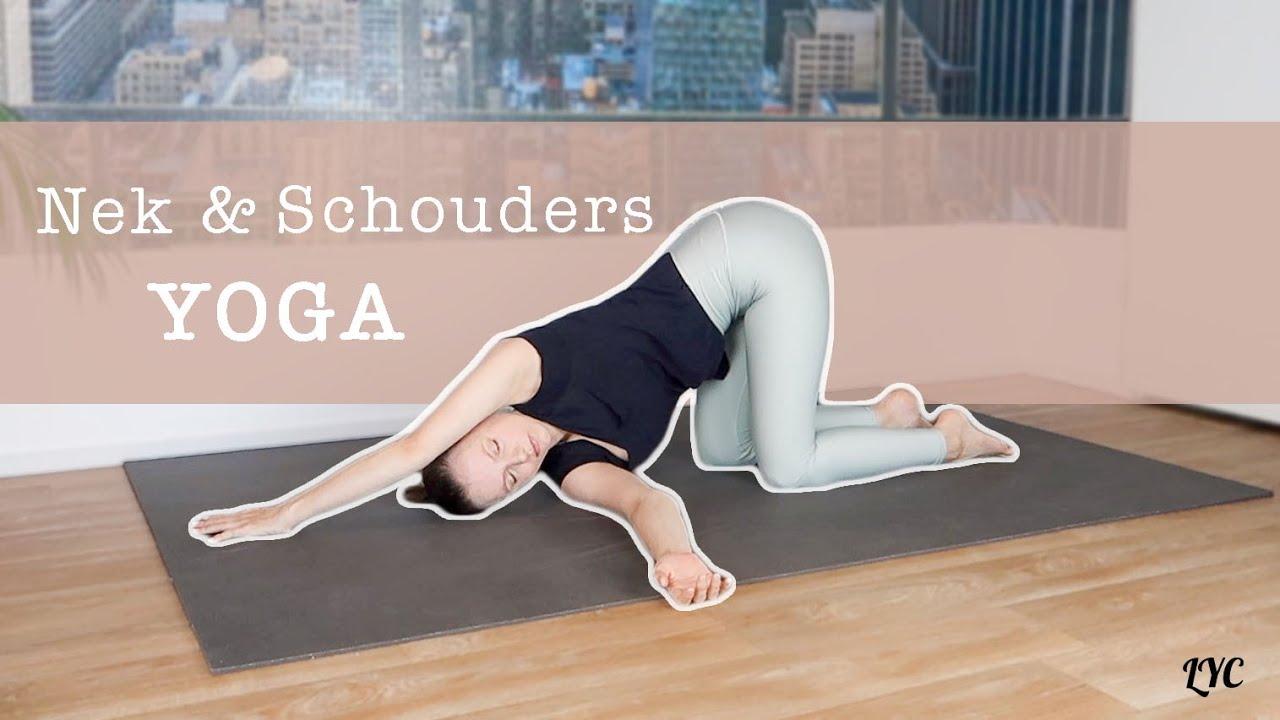 Yoga Voor Ontspannen Nek En Schouders Beginners Yoga Met