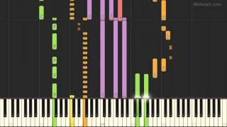 Three Dog Night - Never Been to Spain (Piano Tutorial) [Synthesia Cover]