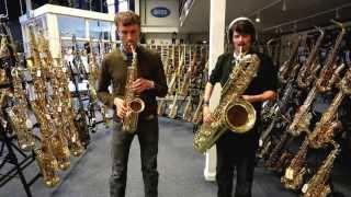 Daft Punk feat. Pharrell Williams - Get Lucky - Saxophone Duet