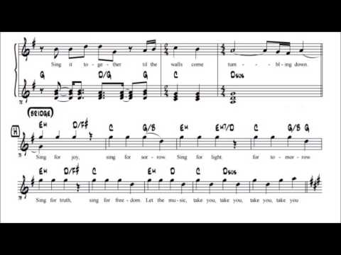 Sing it Together Lead Sheet (G+)