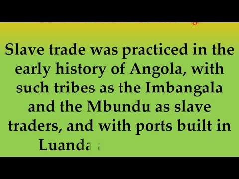 Historical and Cultural Facts about Angola