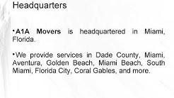 Get Nationwide Moving Services At Unbeatable Prices! With A1A Movers