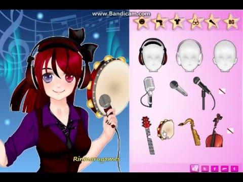 Anime Singer Dress Up Game Rinmaru Games