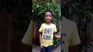 Akilam Potrum bharatham- Mahabharatham song by 6 yrs old Desigan