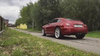 chrysler crossfire stock exhaust vs crossfire no muffler