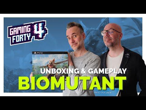 BIOMUTANT - Årets sleeper-hit!? UNBOXING & GAMEPLAY