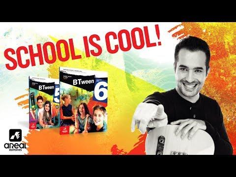 """School is cool!"" - Ricardo Azevedo"