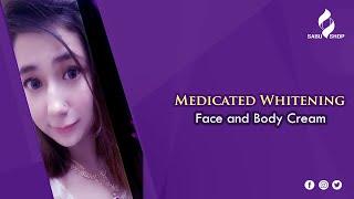 Medicated Whitening face and body Cream ||  Sabu Shop