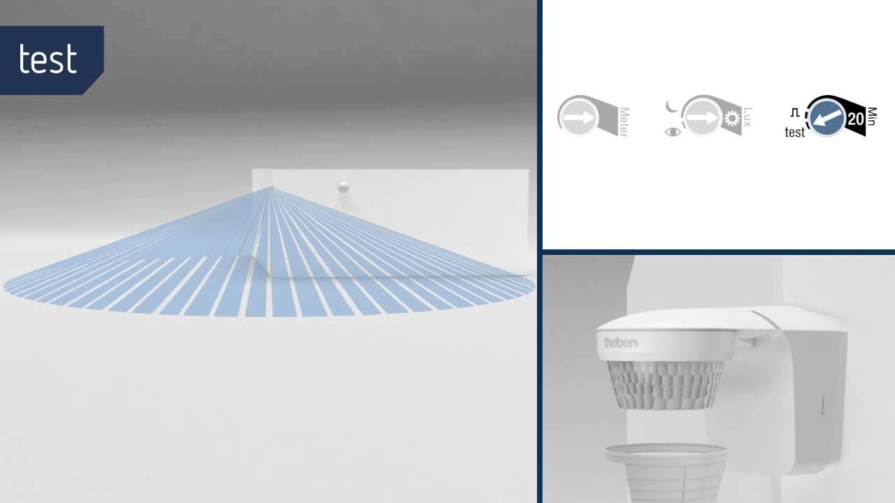 abdeckclips f r erfassungsbereich bewegungsmelder theluxa s360 youtube. Black Bedroom Furniture Sets. Home Design Ideas