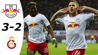 RB Leipzig vs Galatasaray 3-2 All Goals & Highlights HD 2019