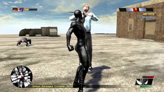 Spiderman Web Of Shadows, Spiderman 3 Symbiote Skin Review