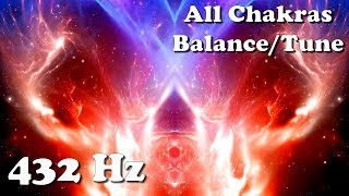 The Space Within You (432 Hz) All Chakra Balancing/Tuning