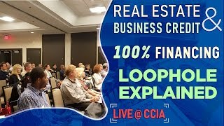 Business Credit – Biggest Loophole to fund Real Estate! [Live @ CCIA] thumbnail