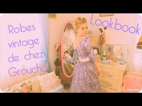 Lookbook Robes Vintage Groucho Toulouse ! 👗